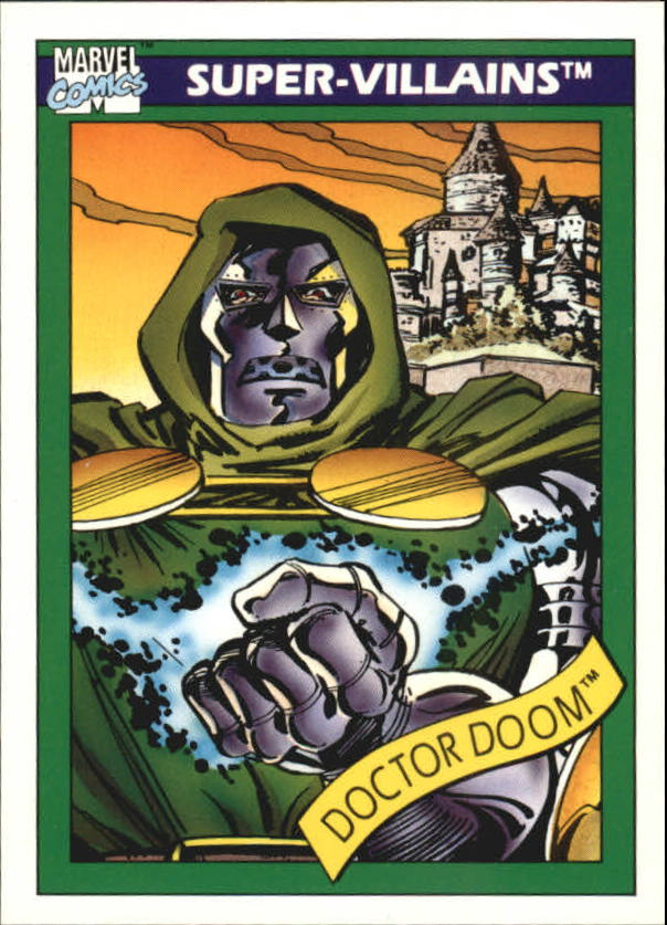 1990 Marvel Universe I #60 Doctor Doom