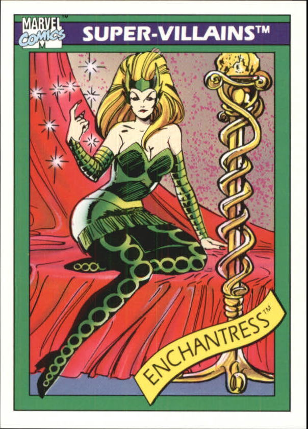 1990 Marvel Universe I #62 Enchantress