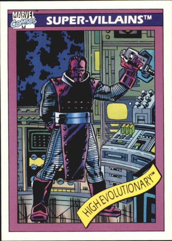 1990 Marvel Universe I #77 High Evolutionary