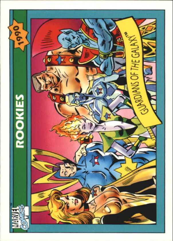 1990 Marvel Universe I #84 Guardians of the Galaxy