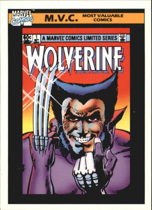 1990 Marvel Universe I #133 Wolverine Limited Series #1