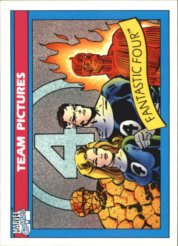 1990 Marvel Universe I #137 Fantastic Four