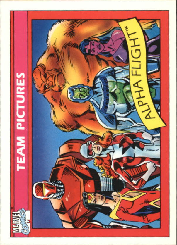 1990 Marvel Universe I #148 Alpha Flight