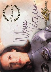 1998 Lost in Space The Movie Autographs #A1 Mimi Rogers