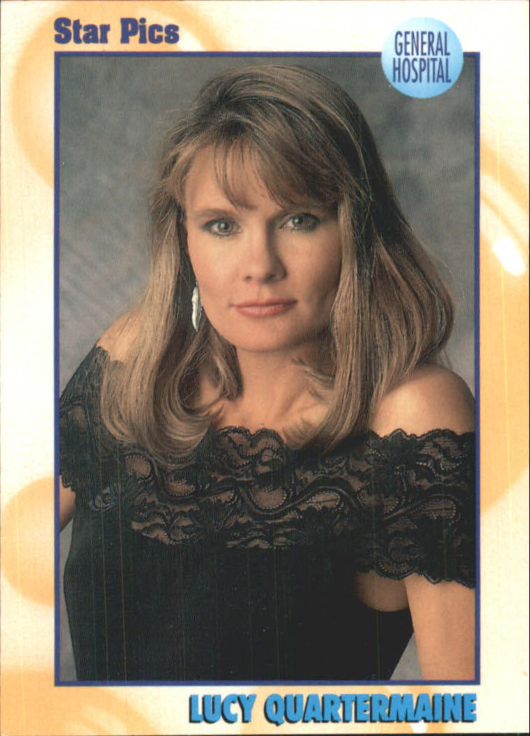 1991 All My Children ABC Soaps #A Lucy Quartermaine - General Hospital