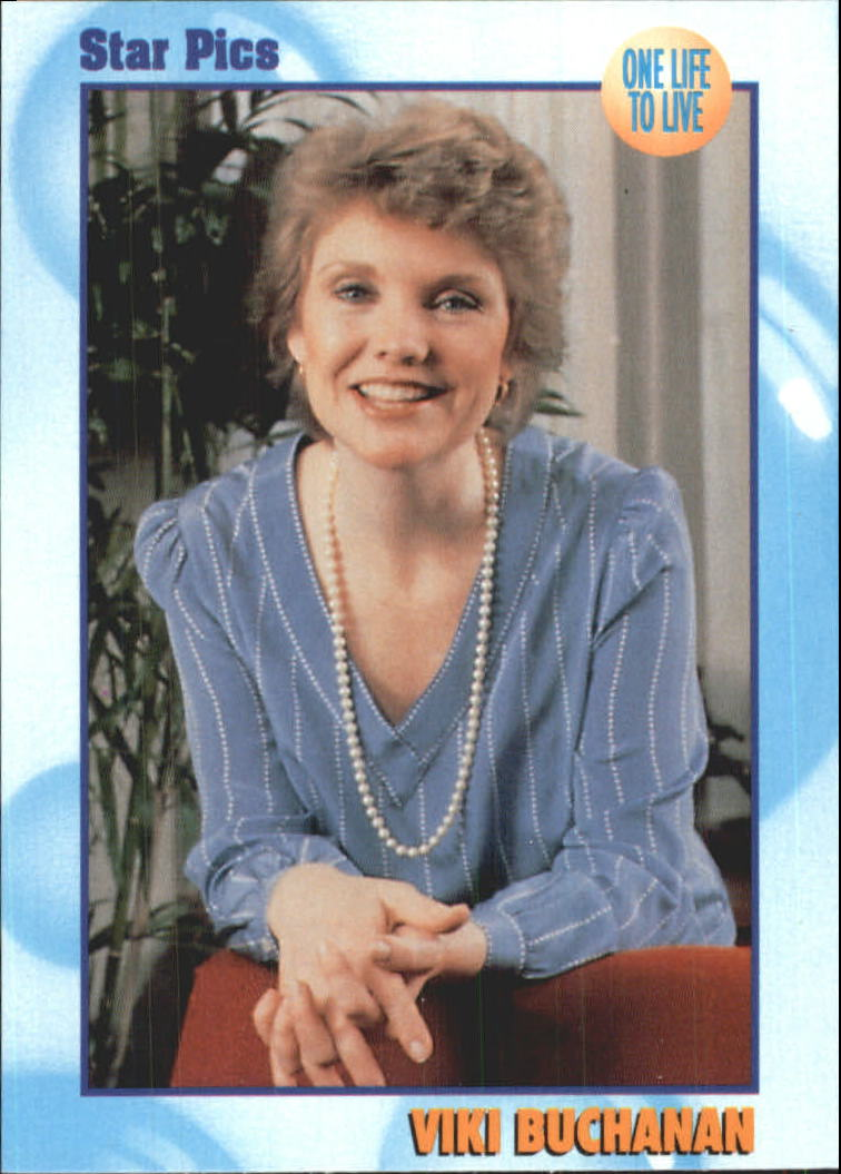 1991 All My Children ABC Soaps #E Viki Buchanan - One Life To Live