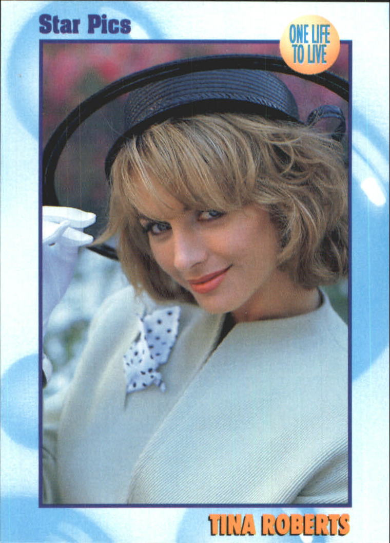 1991 All My Children ABC Soaps #F Tina Roberts - One Life To Live