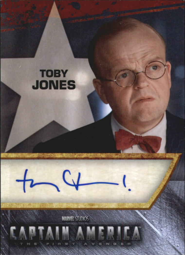 2011 Captain America Movie Autographs #JO Toby Jones