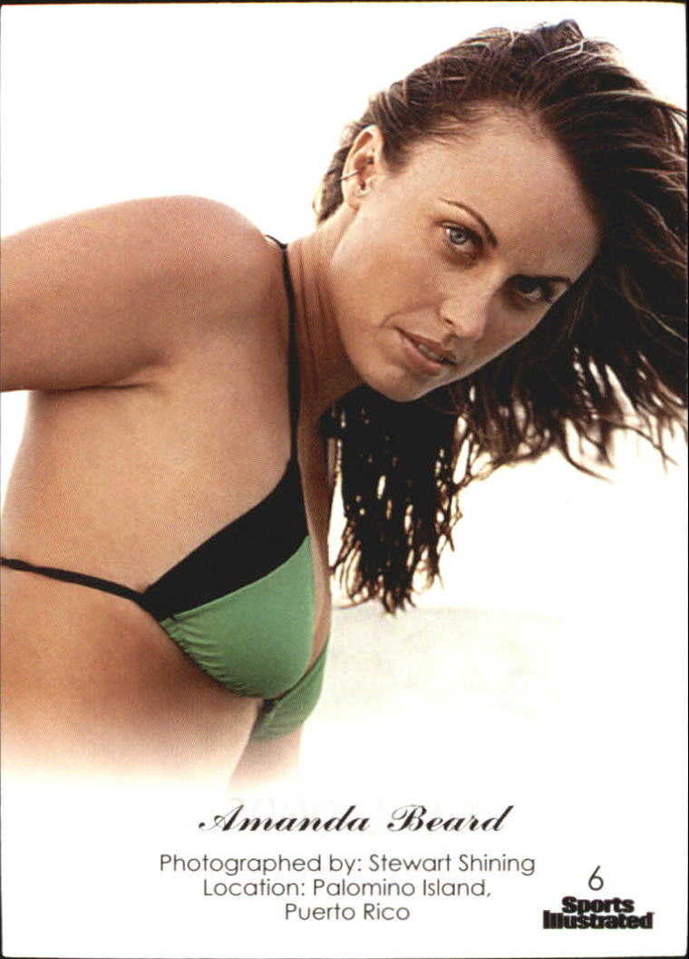 2012 Sports Illustrated Swimsuit Decade of Supermodels #6 Amanda Beard back image