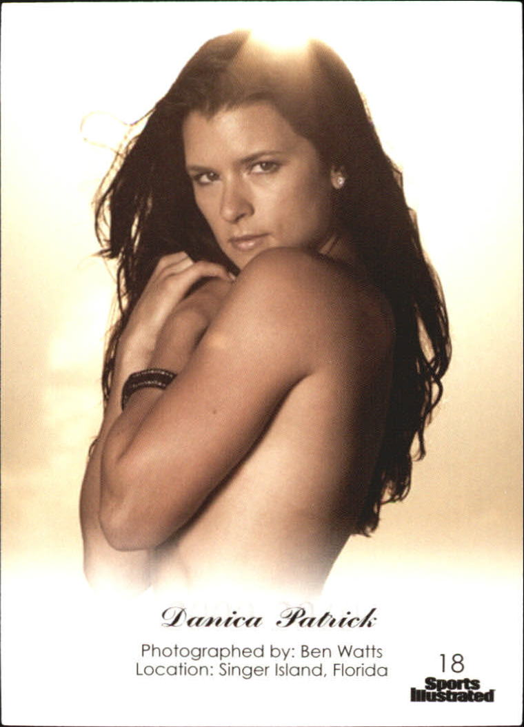 2012 Sports Illustrated Swimsuit Decade of Supermodels #18 Danica Patrick back image