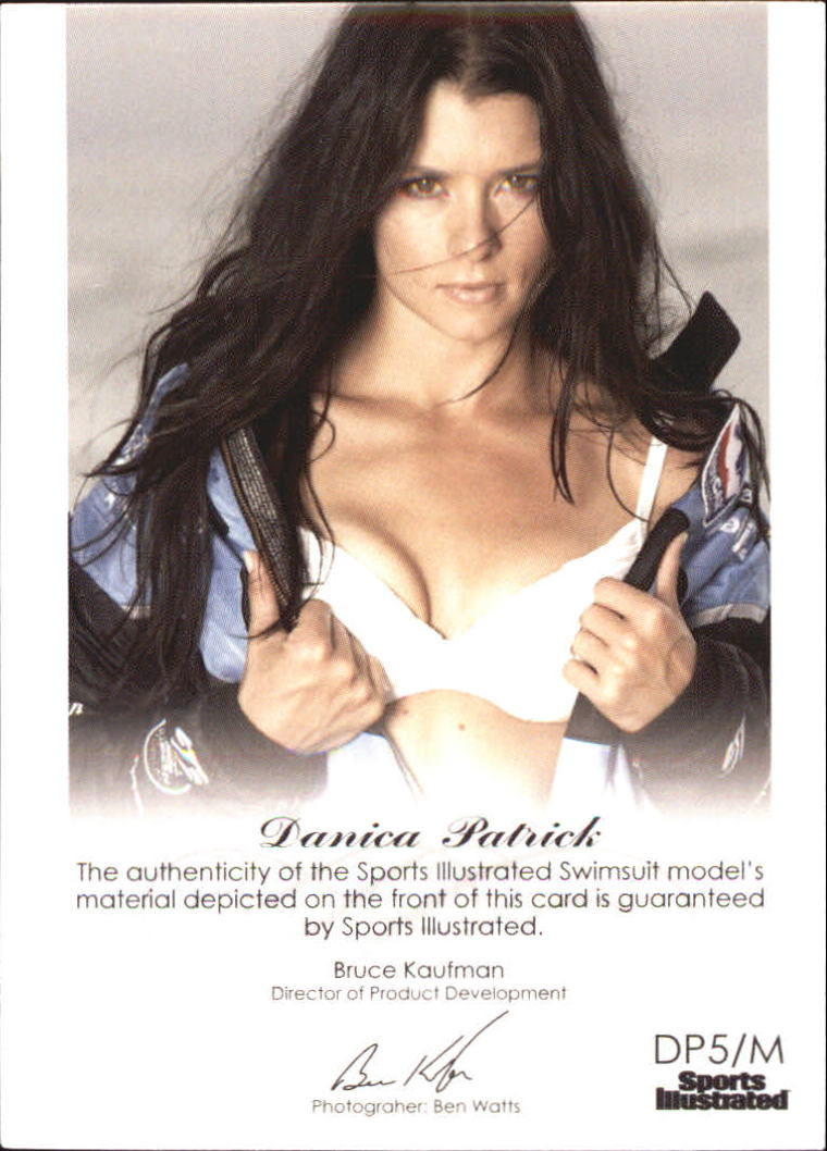 2012 Sports Illustrated Swimsuit Decade of Supermodels Danica Patrick Memorabilia #DP5 Danica Patrick