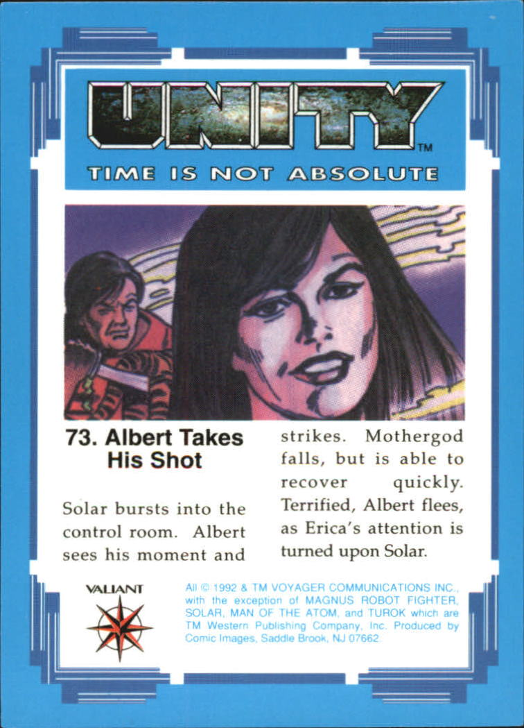 1992 Unity #73 Albert Takes His Shot
