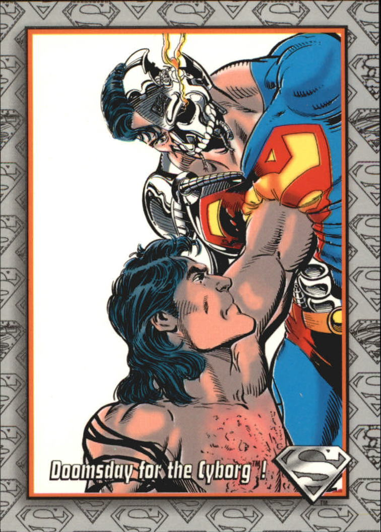 1993 Return of Superman #92 Doomsday for the Cyborg