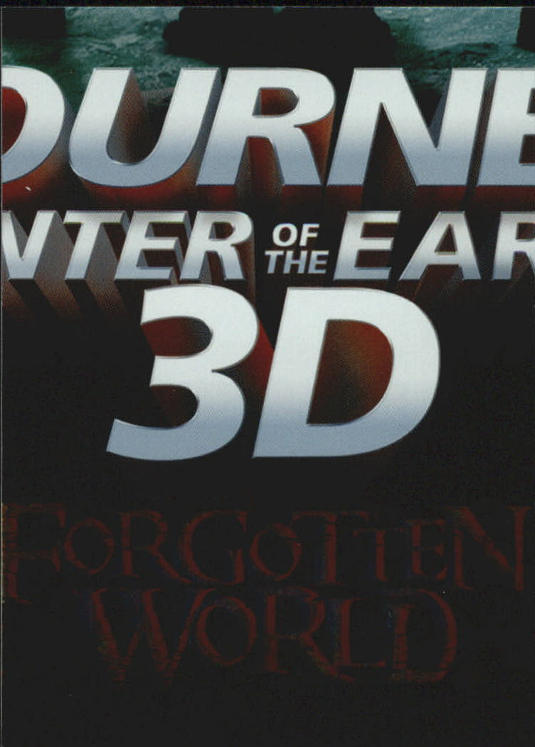 2008 Journey to the Center of the Earth 3-D Forgotten World Puzzle #FW8 Sean's Stepping Stones
