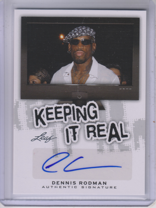 2013 Pop Century Keeping It Real Autographs #KRDR2 Dennis Rodman
