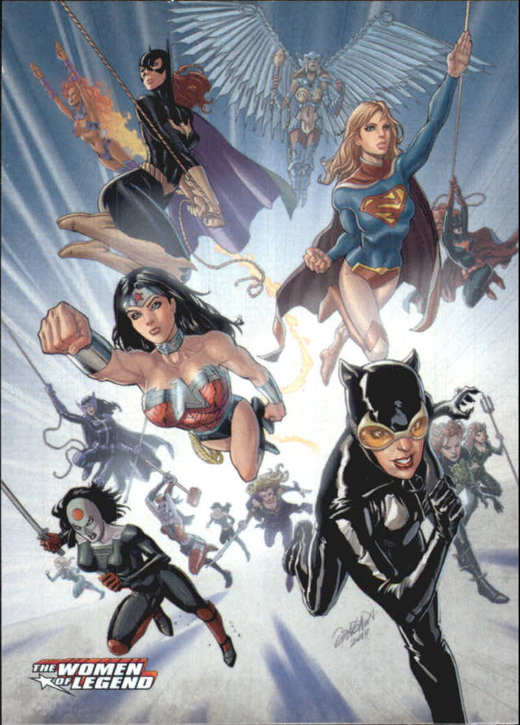 2013 DC Comics Women of Legend #1 The Women of Legend