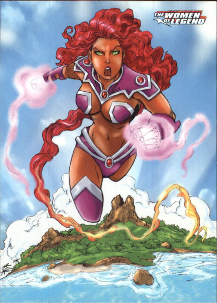2013 DC Comics Women of Legend #4 Starfire