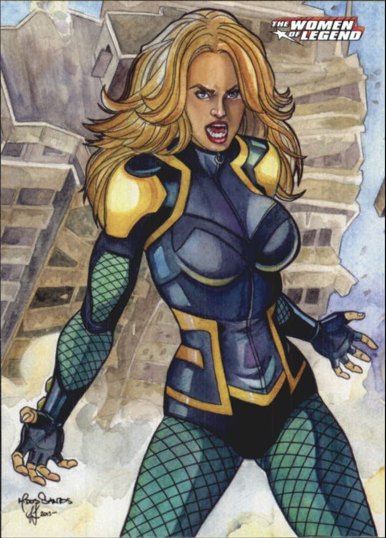 2013 DC Comics Women of Legend #9 Black Canary
