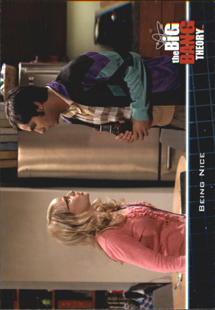 2013 The Big Bang Theory Season Five #3 Being Nice