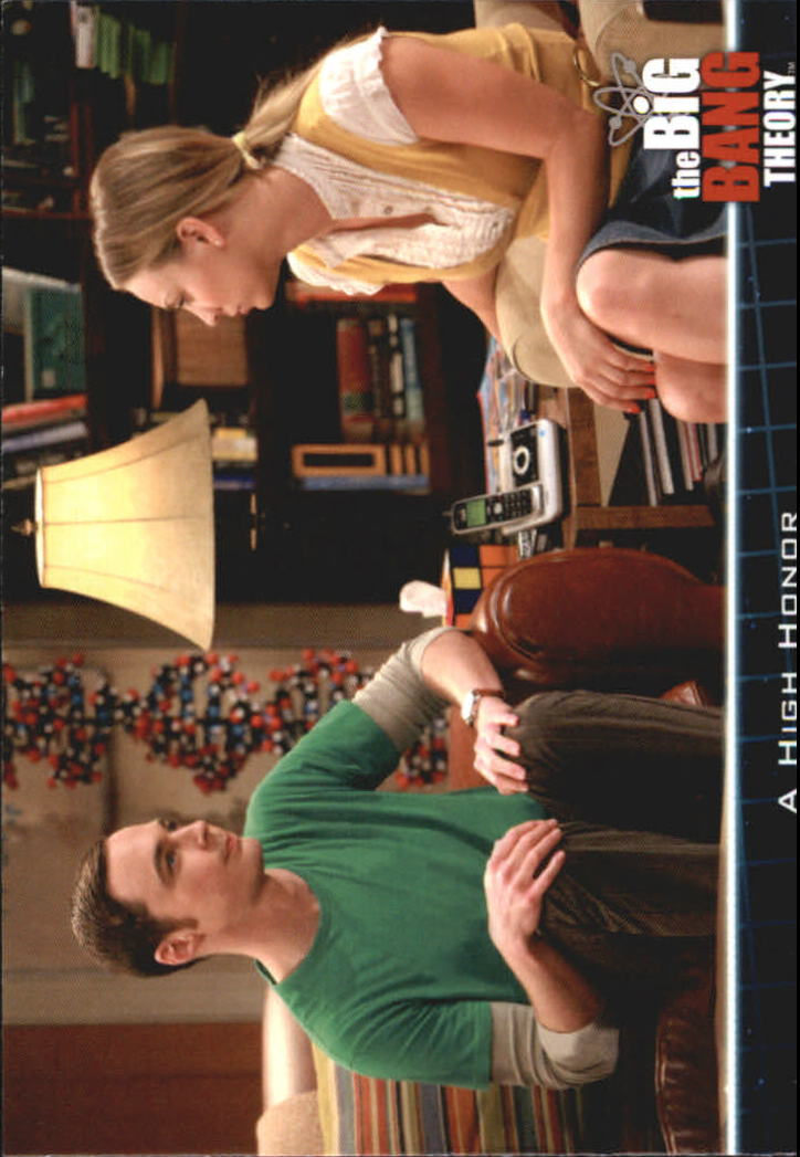 2013 The Big Bang Theory Season Five #8 A High Honor