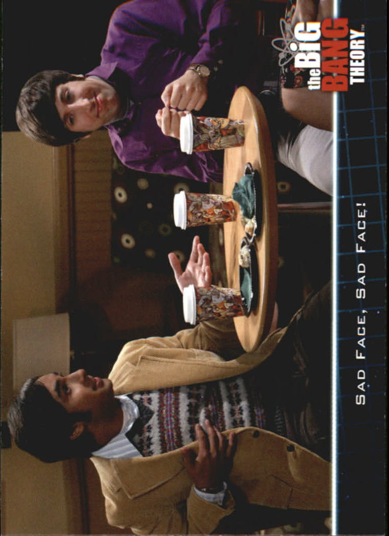 2013 The Big Bang Theory Season Five #14 Sad Face, Sad Face!