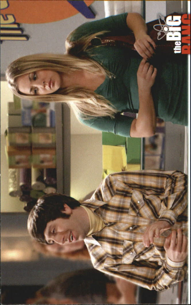 2013 The Big Bang Theory Season Five #16 Heartbroken