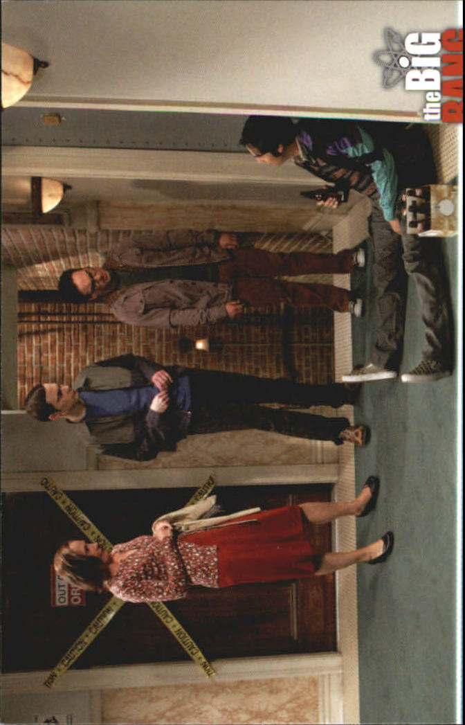 2013 The Big Bang Theory Season Five #18 Six New Friends