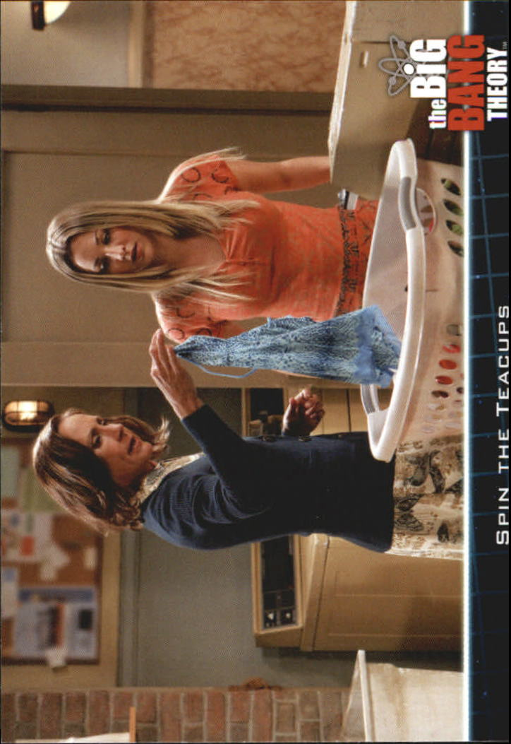 2013 The Big Bang Theory Season Five #19 Spin the Teacups