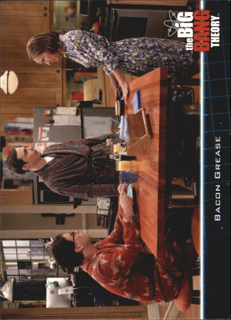 2013 The Big Bang Theory Season Five #20 Bacon Grease