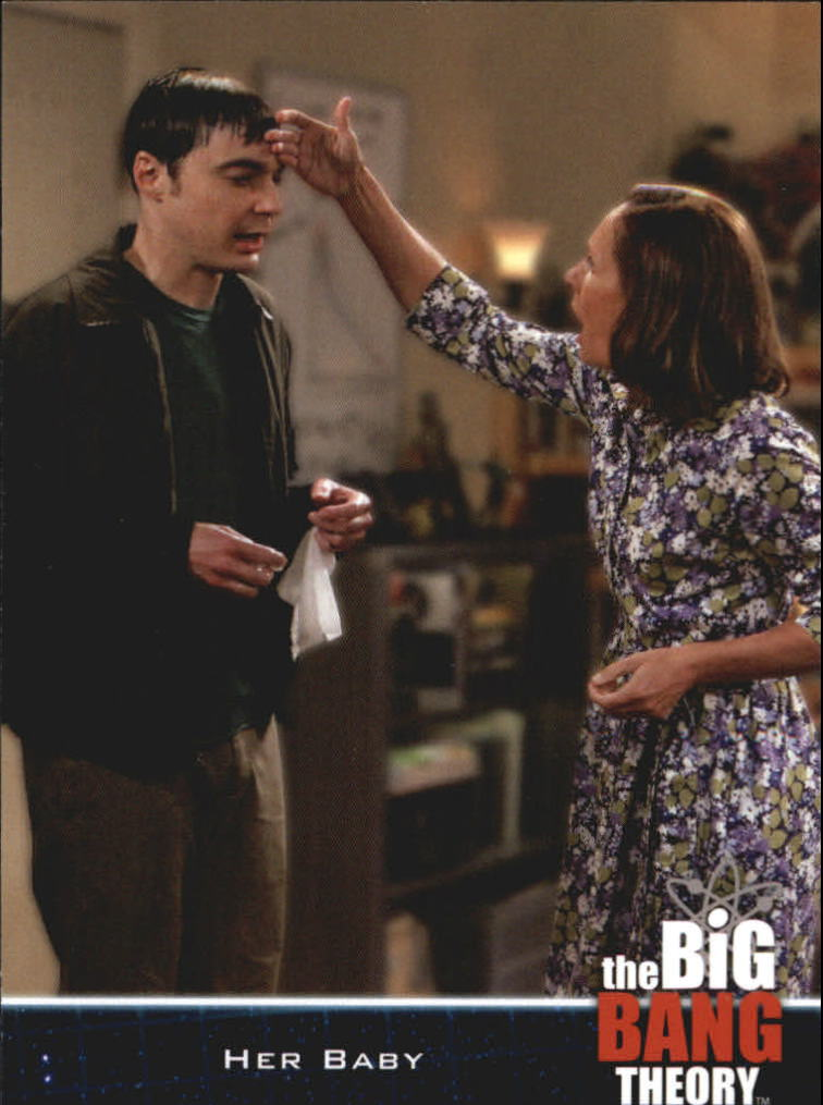 2013 The Big Bang Theory Season Five #21 Her Baby