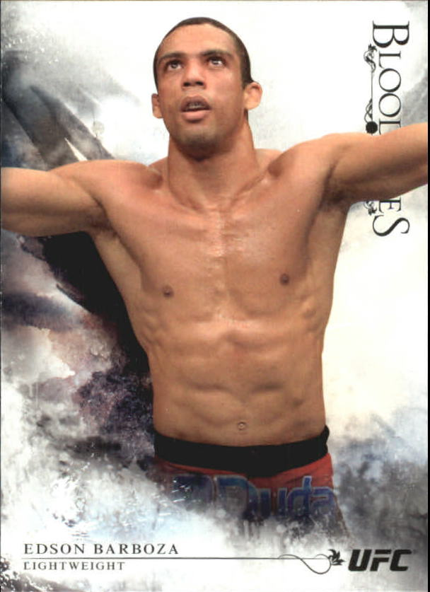 2014 Topps UFC Bloodlines #12 Edson Barboza