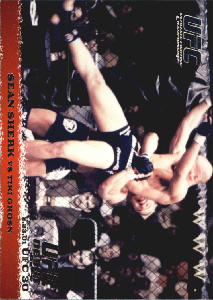 2009 Topps UFC Round 1 #9 Sean Sherk/Tiki Ghosn