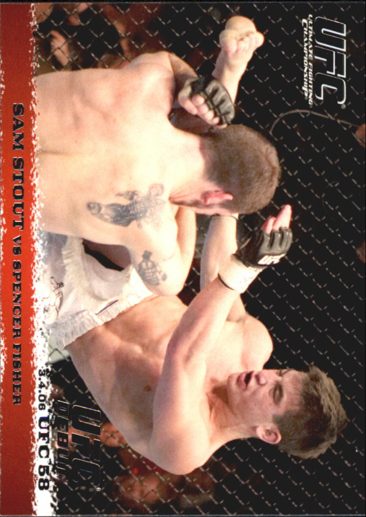2009 Topps UFC Round 1 #39 Sam Stout/Spencer Fisher