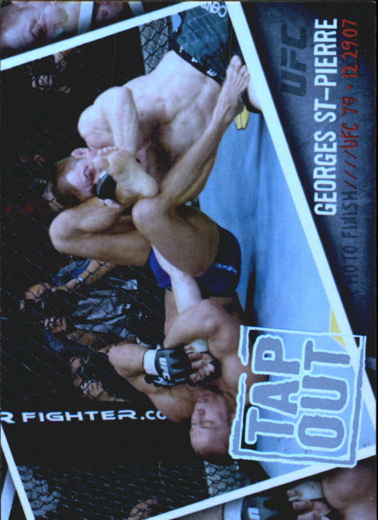 2009 Topps UFC Photo Finish #PF8 Georges St-Pierre