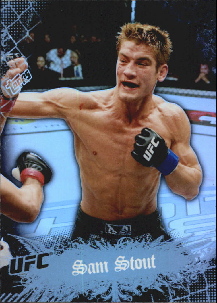 2010 Topps UFC Main Event #45 Sam Stout