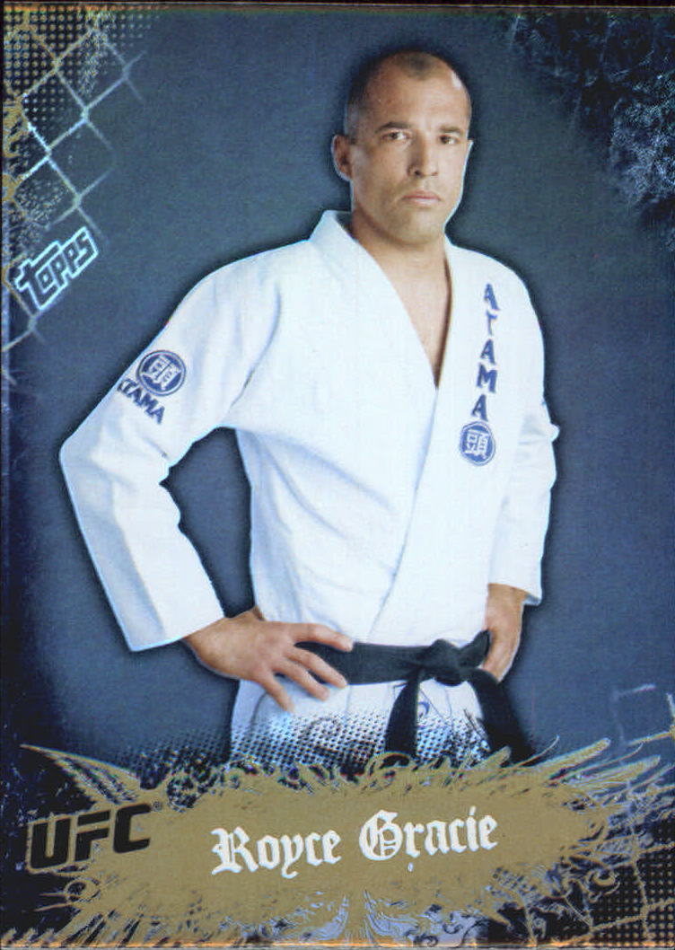 2010 Topps UFC Main Event Gold #1 Royce Gracie