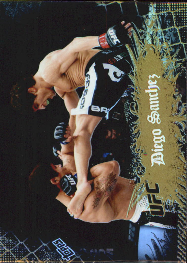 2010 Topps UFC Main Event Gold #3 Diego Sanchez