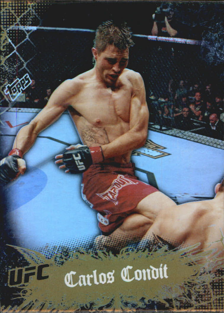 2010 Topps UFC Main Event Gold #7 Carlos Condit