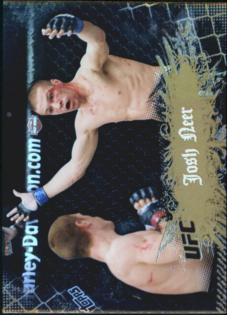 2010 Topps UFC Main Event Gold #20 Josh Neer