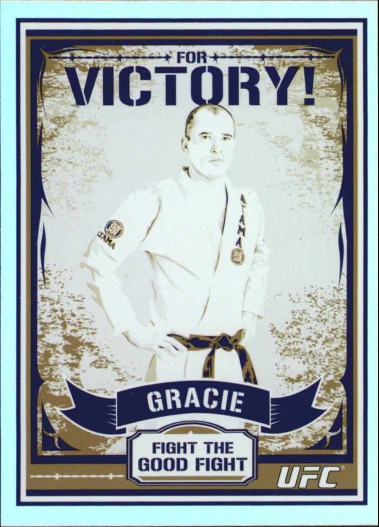 2010 Topps UFC Main Event Propaganda #MP2 Royce Gracie