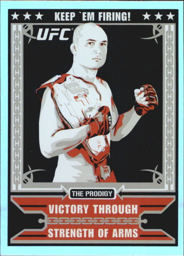 2010 Topps UFC Main Event Propaganda #MP3 BJ Penn