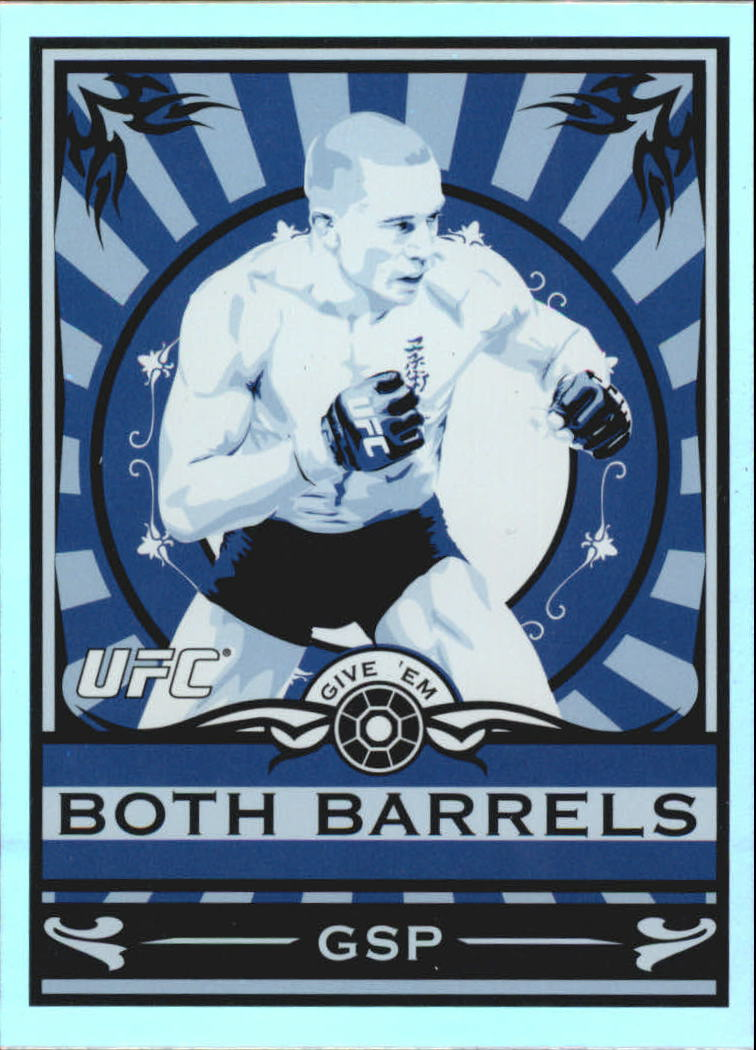 2010 Topps UFC Main Event Propaganda #MP9 Georges St-Pierre