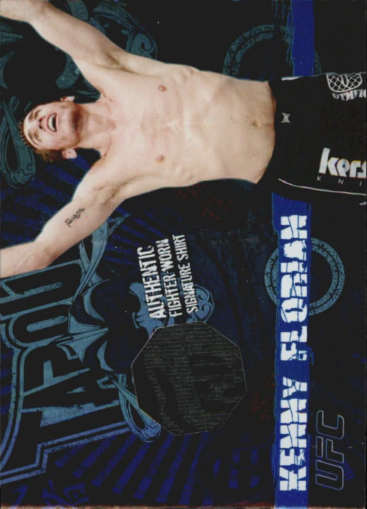 2010 Topps UFC Main Event Tapout Relics #TTRKF Kenny Florian