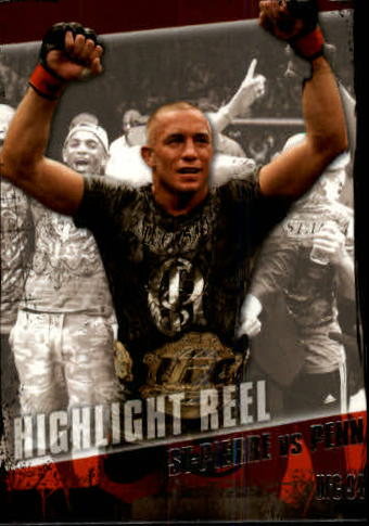 2010 Topps UFC #183 Georges St-Pierre/BJ Penn