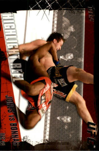 2010 Topps UFC #191 Jon Jones/Stephan Bonnar