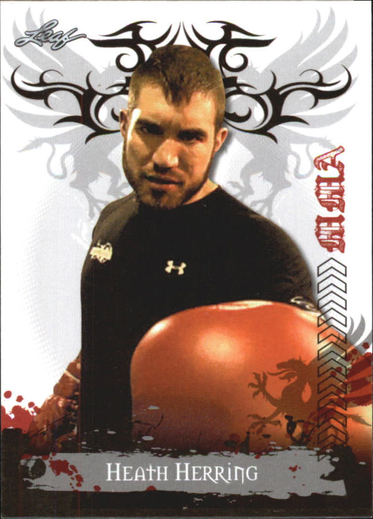 2010 Leaf MMA #28 Heath Herring