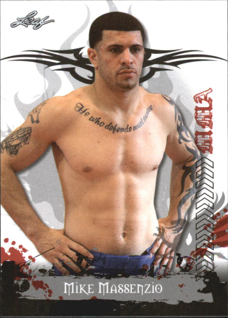 2010 Leaf MMA #52 Mike Massenzio