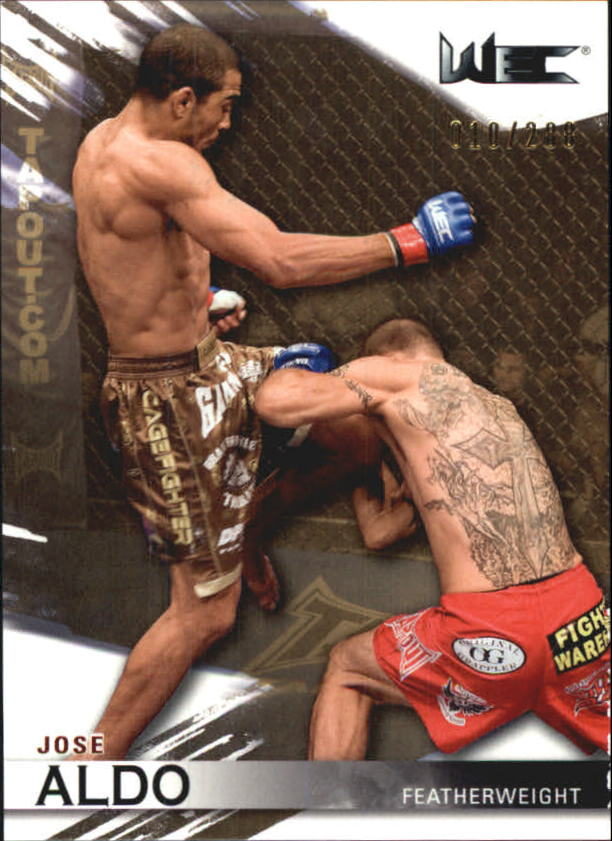 2010 Topps UFC Knockout Gold #120 Jose Aldo