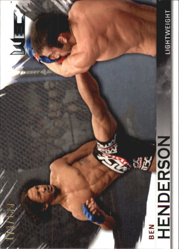 2010 Topps UFC Knockout Silver #125 Ben Henderson