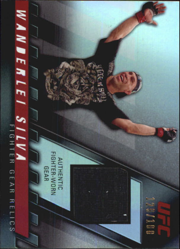 2010 Topps UFC Knockout Fighter Gear Relics #FGWS Wanderlei Silva